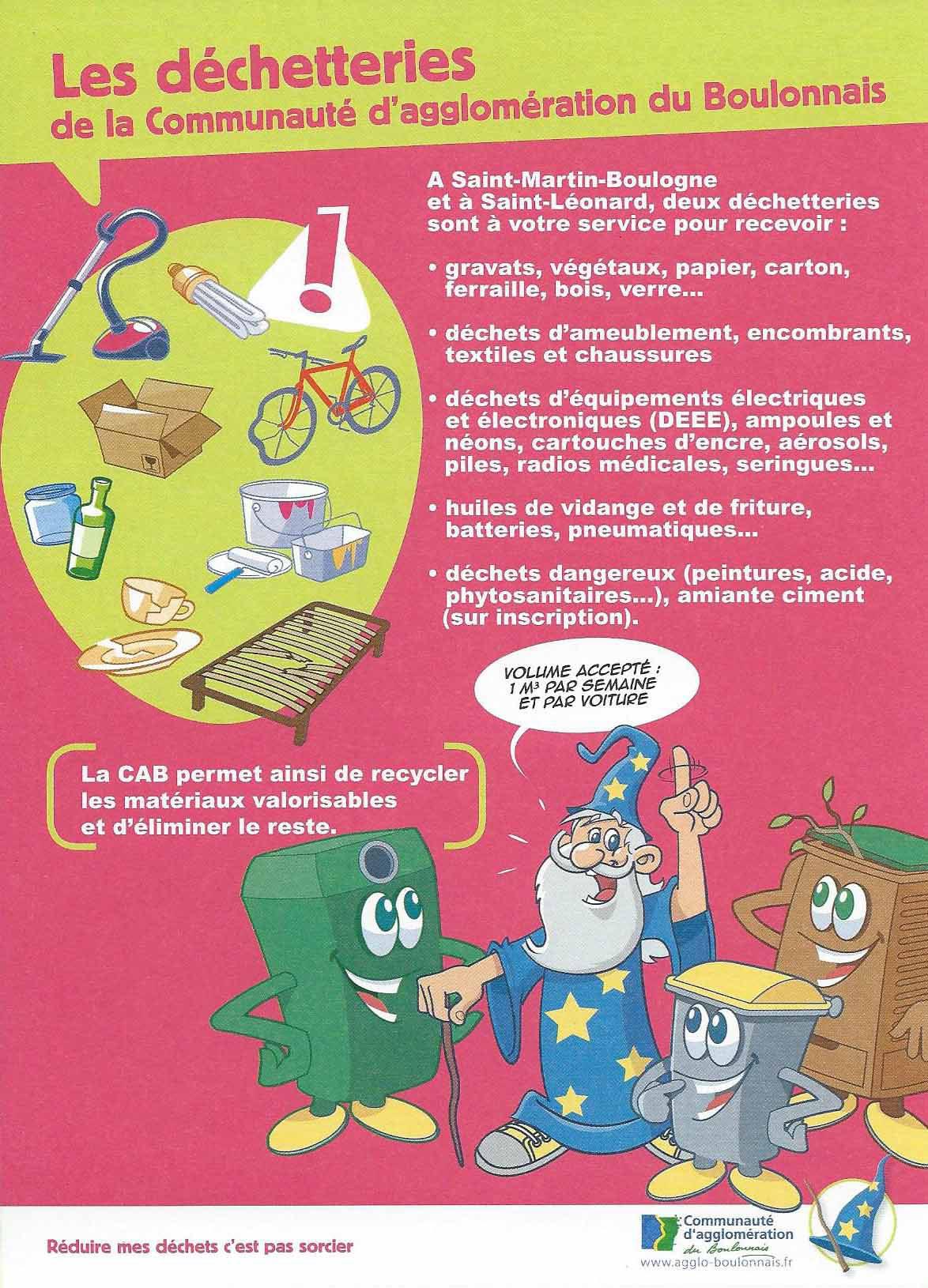 Mairie de Saint-Léonard - infos dechets