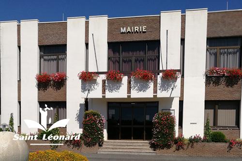 Ville de St Léonard La mairie - permanences