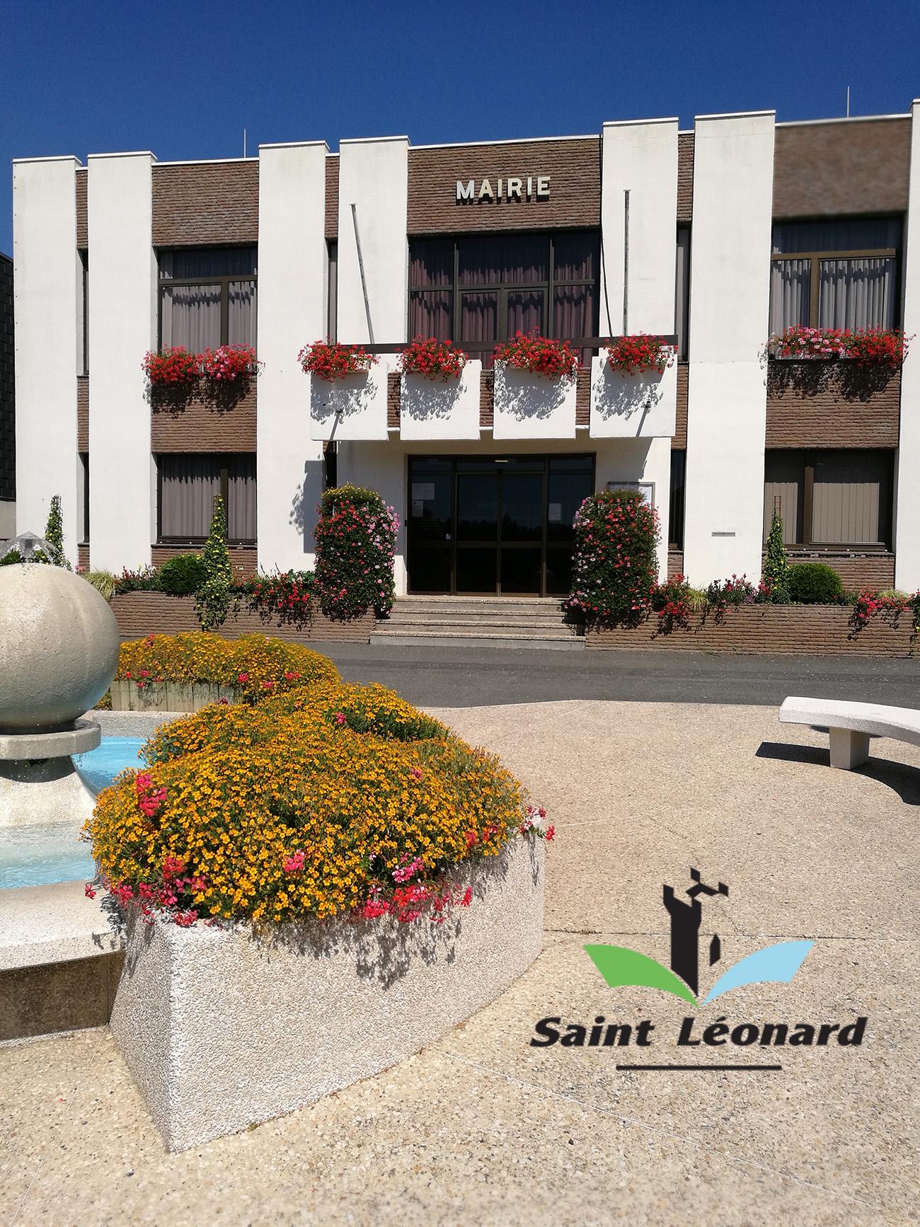 Ville de St Léonard La mairie