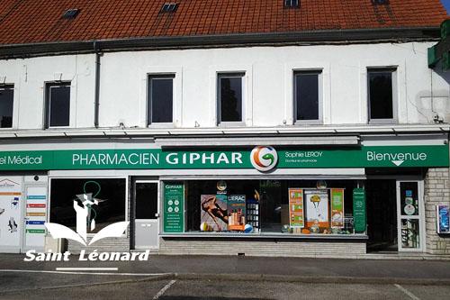 Mairie de Saint-Léonard - pharmacie