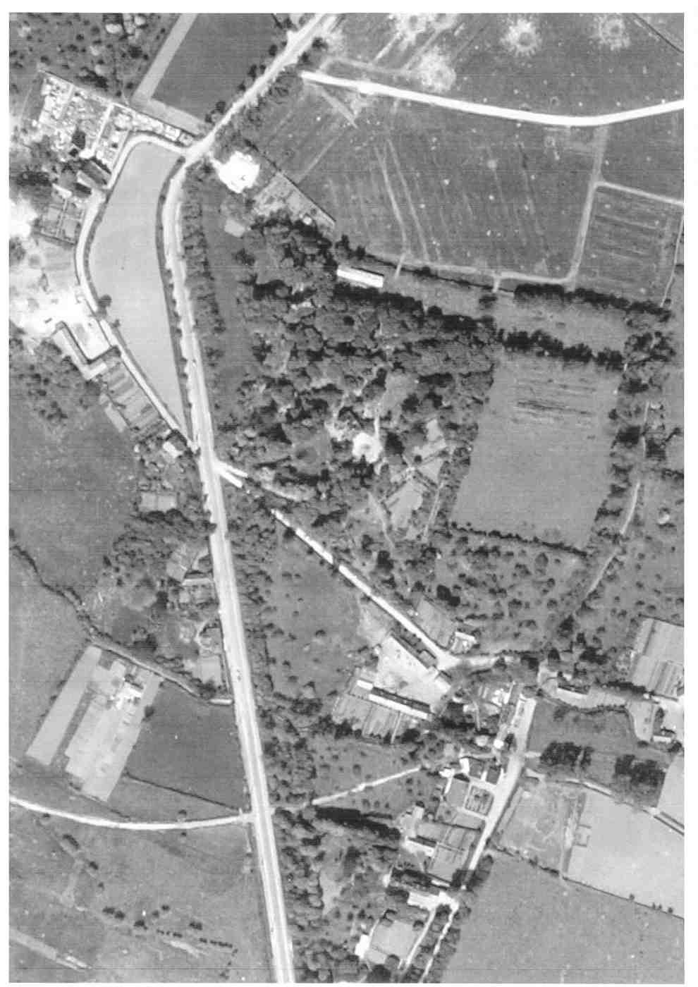 Saint-Léonard en 1945