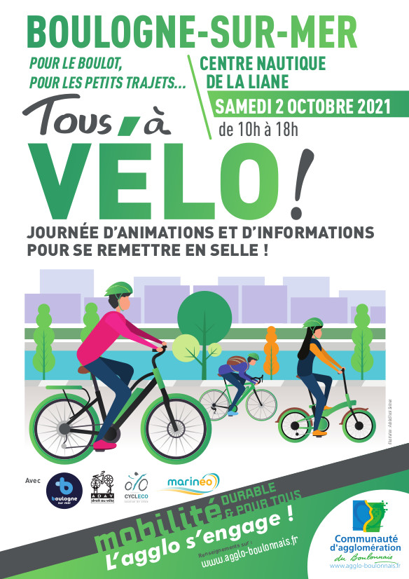 OPÉRATION «TOUS  À VÉLO» LE 02 OCTOBRE